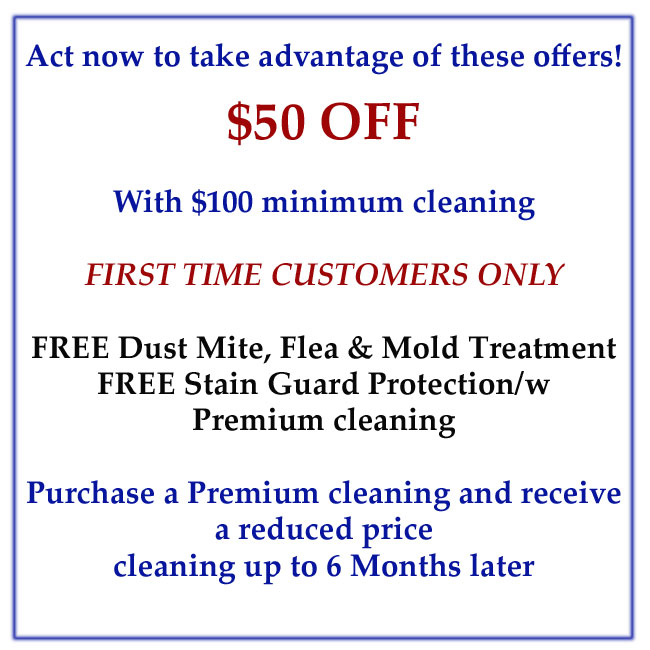 Carpet Cleaning Coupons MD DC VA